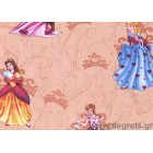 Ταπετσαρία  χαρτί Πριγκίπισσες μπεζ