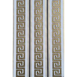 Ταπετσαρία χάρτινη Versace λευκό-χρυσός