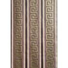 Ταπετσαρία χάρτινη Versace καφέ