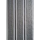 Ταπετσαρία χάρτινη Versace μαύρο-ασήμι