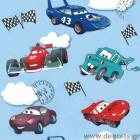 Ταπετσαρία χαρτί Αυτοκίνητα μπλε