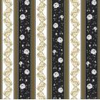 Ταπετσαρία διπλής όψης Vals-Versace μαύρο