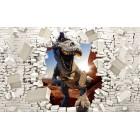 Φωτοταπετσαρία T-Rex 1 3D