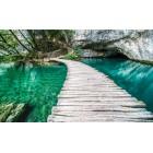Φωτοταπετσαρία Γέφυρα στη  λιμνοθάλασσα 3D L