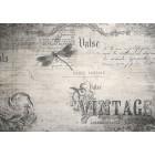 Φωτοταπετσαρία Vintage επιστολής