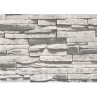 Ταπετσαρία τοίχου αδιαπέραστος Πέτρα γκρι