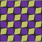 Ταπετσαρία χαρτί αδιάβροχη Lalin κίτρινο-μοβ