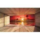 Φωτοταπετσαρία  Ηλιοβασίλεμα στη Θάλασσα 2