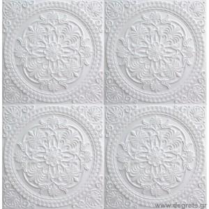 Πάνελ Ταβάνι 50/50 Αριθμός 10-4019 Λευκό