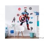 Αυτοκόλλητο Captain America