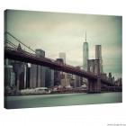 Εικόνα Canvas Γέφυρα του Μπρούκλιν 1 L