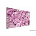 Εικόνα Canvas Ένα μπουκέτο από ροζ τριαντάφυλλα