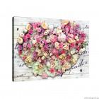 Εικόνα Canvas Αγάπη - Λουλούδια 1