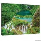 Εικόνα Canvas Καταρράκτη στη ζούγκλα L