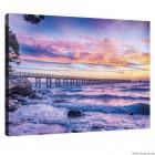 Εικόνα Canvas Ηλιοβασίλεμα πάνω από τη θάλασσα