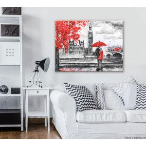 Εικόνα Canvas Λονδίνο Art L