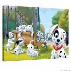 Εικόνα Canvas 101 σκυλιά της Δαλματίας