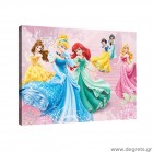 Εικόνα Canvas Disney Πριγκίπισσες 1