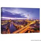 Εικόνα Canvas Βερολίνο τη νύχτα