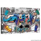 Εικόνα Canvas Γκράφιτι S