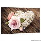 Εικόνα Canvas Αγάπη - Λουλούδια 2 S