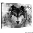 Εικόνα Canvas Λύκος S