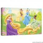 Εικόνα Canvas Disney Πριγκίπισσες 3