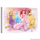 Εικόνα Canvas Disney Πριγκίπισσες 4