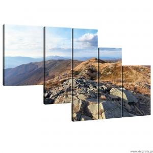 Σετ Εικόνα Canvas 5 κομμάτια Φύση 3