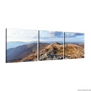 Σετ Εικόνα Canvas 3 κομμάτια Φύση 3