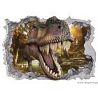 Αυτοκόλλητο Δεινόσαυρος 1 3D 65x90 εκ.