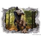 Αυτοκόλλητο Δεινόσαυρος 2 3D 65x90 εκ.