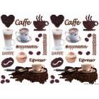 Αυτοκόλλητο Καφές 1 65x90 εκ.