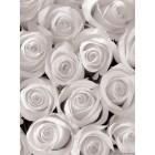 Φωτοταπετσαρία Λευκά τριαντάφυλλα 3D
